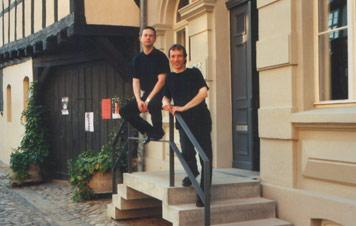 Ilia Karadjov und Felix Romankiewicz