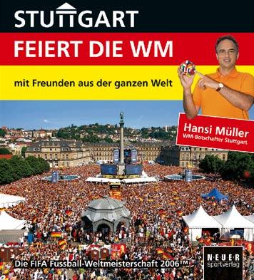 "Titelblatt Bildband ""Stuttgart feiert die WM"""