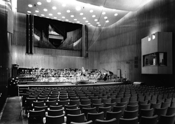 Der Große Sendesaal 1952, Foto: SWR-Archiv