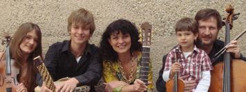 Die Familie Marques-Fuhrmann gibt am Samstag, dem 19. September im Muse-O ein Konzert mit brasilianischer Musik. Foto: privat