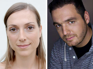 Sarah Gros nf und Frank Streichfuss