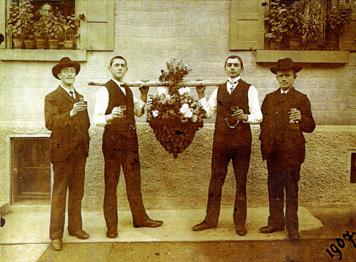 Gaisburger Kirbetraube 1907, Slg. Blessing