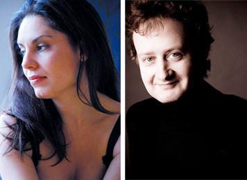 Nina Karmon und Roland Krüger