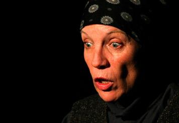 """Ein Höhepunkt der 2005er-Veranstaltungen war sicher das Einpersonenstück """"Mein Lebtag"""" mit Ulrike Bartruff."""