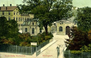 Tierärztliche Hochschule um 1910 (Slg. Unglaub)
