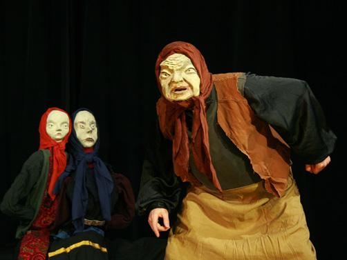 Figurentheater  mit Charaktermasken. Foto: privat