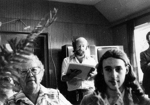 Lesung Esser  im Waldheim