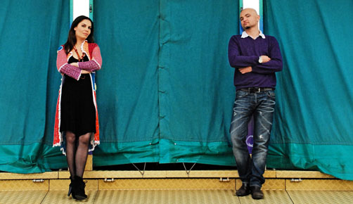Nina Karmon und Denis Omerovic