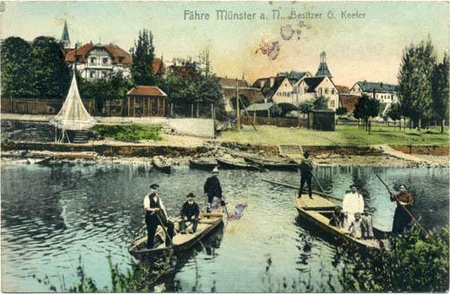 Fähren bei Münster, Slg. Unglaub