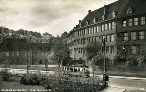 Wagenburg-Schulgebäude 1937 (Slg. MUSE-O)