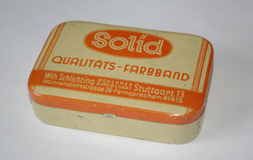 Farbband Solid (Fa. Schlichting)