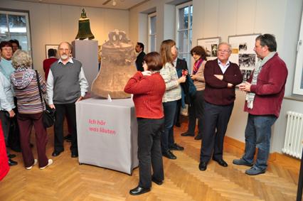 Am Sonntag kann zum letzten Mal die Glockenausstellung angeschaut werden.  Foto: aia