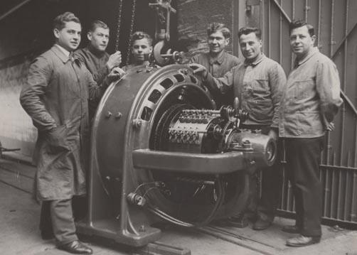 Küenle-Elektromotoren, 1933. Slg. Küenle