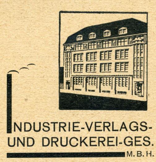 Das Gebäude dieses Verlages besteht noch heute; wer kennt es? Ausschnitt aus einer Postkarte von 1931. Sammlung Gohl