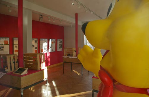 Ausstellung Lurchi trifft Fritzle