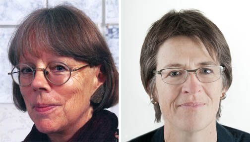 Brigitte Romankiewicz und Katharina Roos