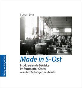 """Einband Buch """"Made in S-Ost"""""""
