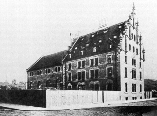 Das kleine Kraftwerk am Stöckach, erbaut 1902. Sammlung MUSE-O