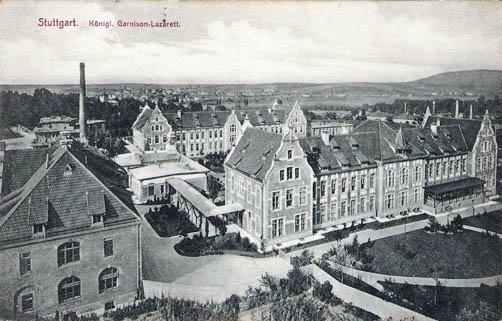 Garnison-Lazarett, Slg. Müller