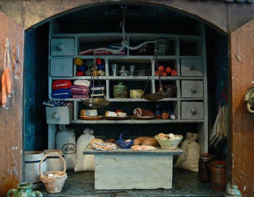 Ein wunderschöner Kaufladen aus der Zeit um 1830. Foto Andreas Praefcke