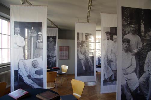 Ein Blick in die Lazarett-Ausstellung im MUSE-O. Foto MUSE-O